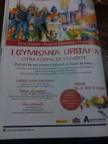 Gymkhana Urbana OFM